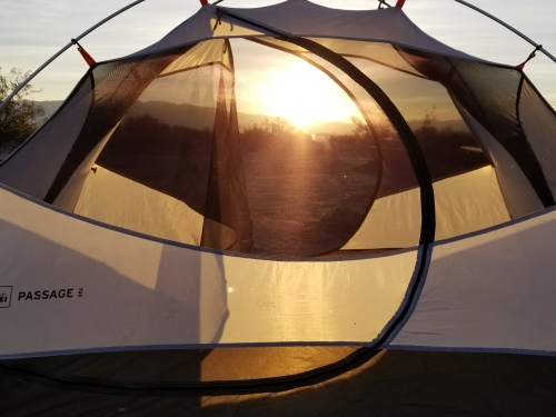 Death Valley 2018 tent