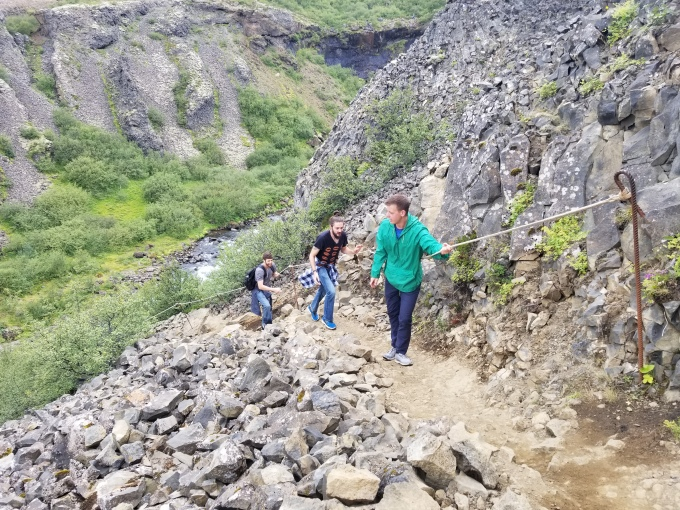 GlymurRope Climbing 2018