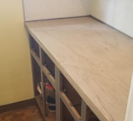 Concrete Countertops 3rd layer 2018