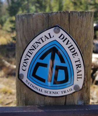 Colorado North Lake trail head CDT 2018