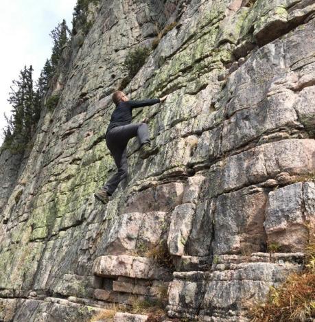 Colorado Rock Climb 2018