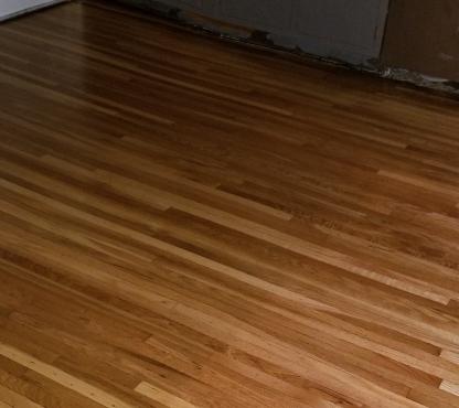 Kitchen Floor Poly on 2018