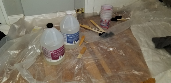 Countertops Epoxy Buckets 2018
