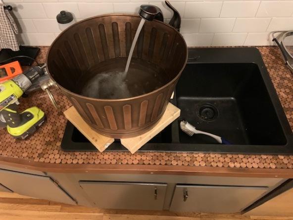 Steampunk Sink Testing 2019