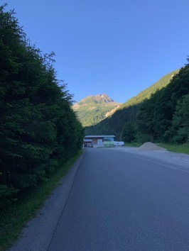Leaving Camp Pontet