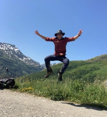 Luke Jumping